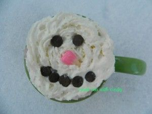 Snowman Soup or Hot Chocolate