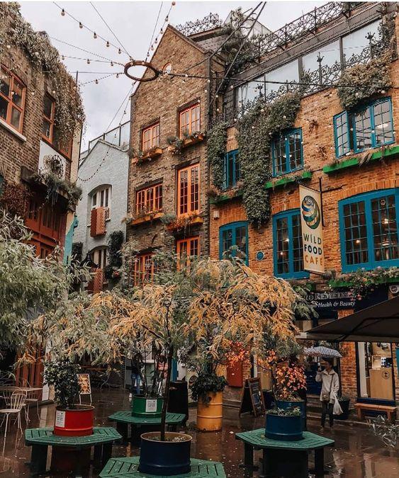 "London • UK 🇬🇧 on Instagram: ""Neal's Yard in Covent Garden 🧡 | 📸 @fairytalesoflondon | #itssolondon #london"""