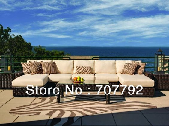 2013 New Style wicker rattan costco outdoor furniture