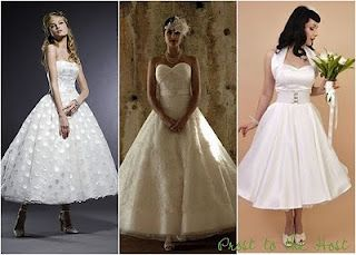 Wedding, Event and Party Ideas and Help: 50's style wedding dresses