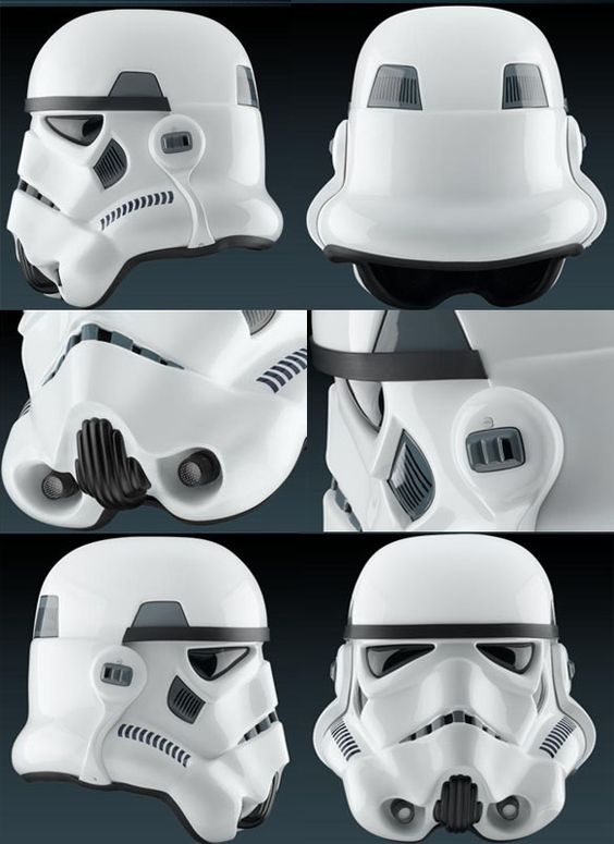 how to build a stormtrooper helmet