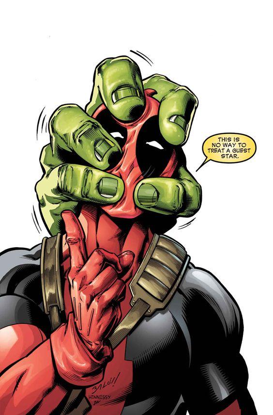 Hulk vs Deadpool by Gerry Duggan