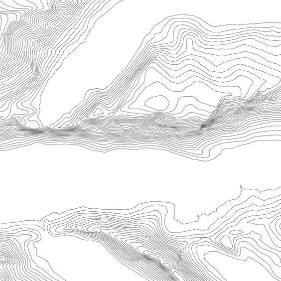 Contour Line Landscape Drawing : Pinterest the world s catalog of ideas
