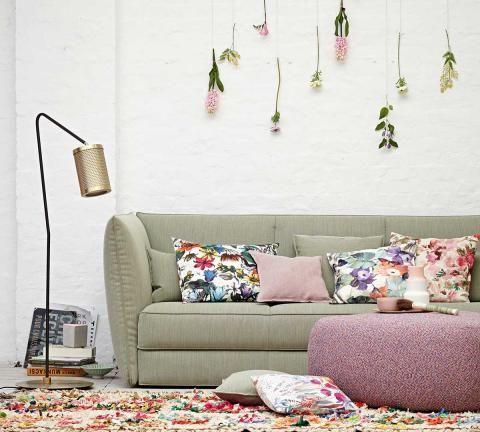 Wohnen Mit Farbe Pastell Als Wandfarbe Mit Farbigen Mobeln Mit Bildern Wohnen Schoner Wohnen Wohnzimmerdesign