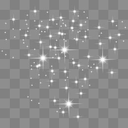 White Shining Star Png