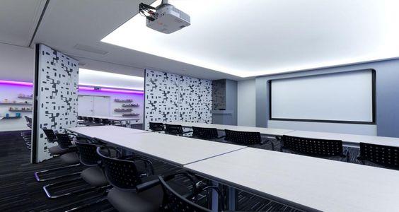 Sala de reuniões nos escritórios da Coty em Paris, França