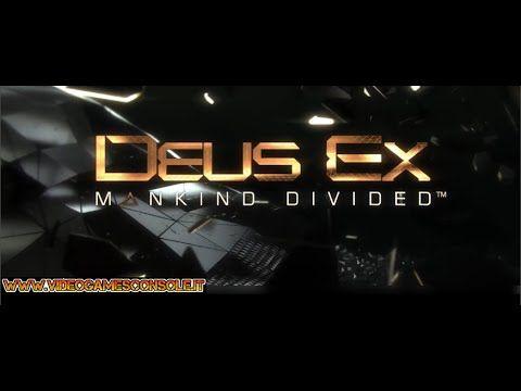 Deus Ex Mankind Divided Launch Trailer [PS4-XBOX ONE-PC] Anteprima previ...