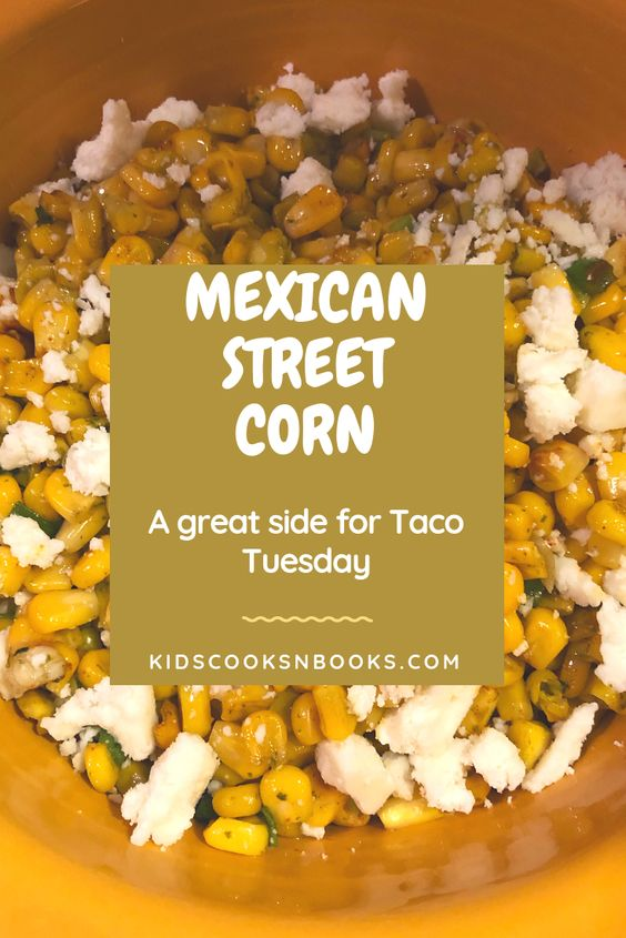 Authentic Mexican food truck street corn from the comfort of your own home! Make this side for your next taco night!