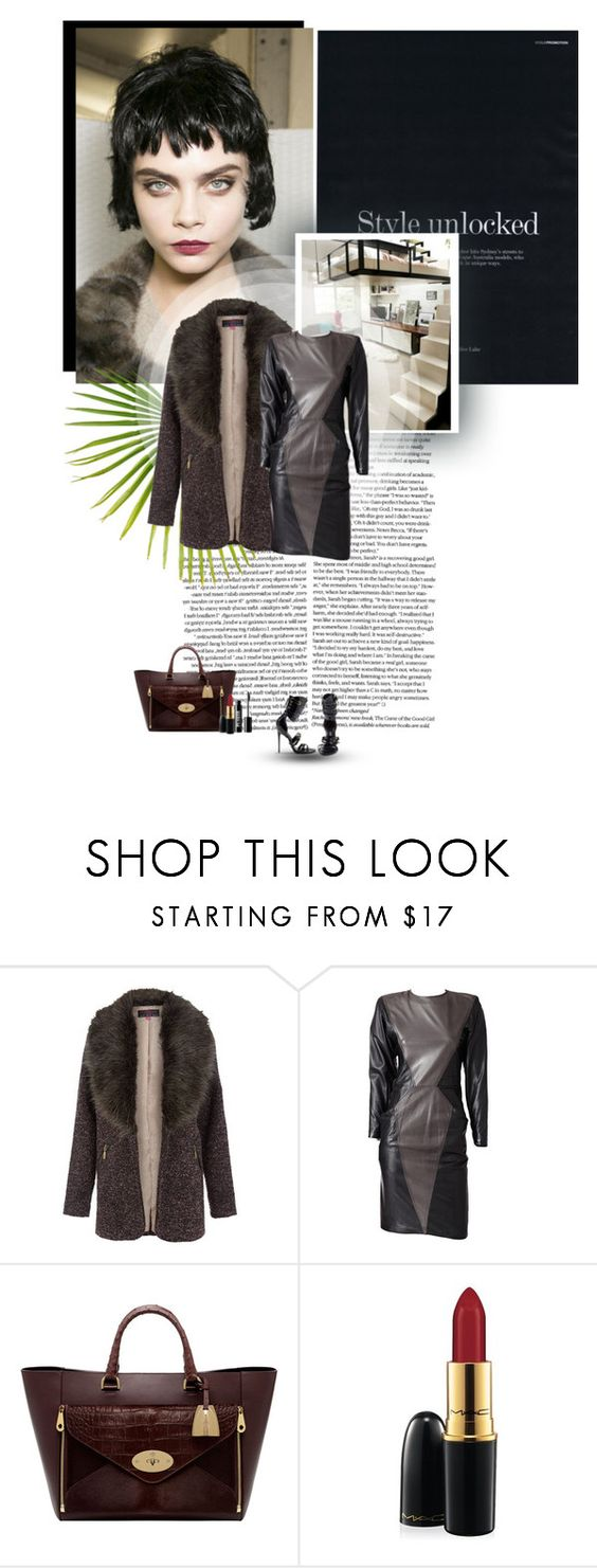 """""""Fancy and Classy"""" by shelly-15 ❤ liked on Polyvore featuring Emanuel Ungaro, Tom Ford, Mulberry, MAC Cosmetics and Ardency Inn"""