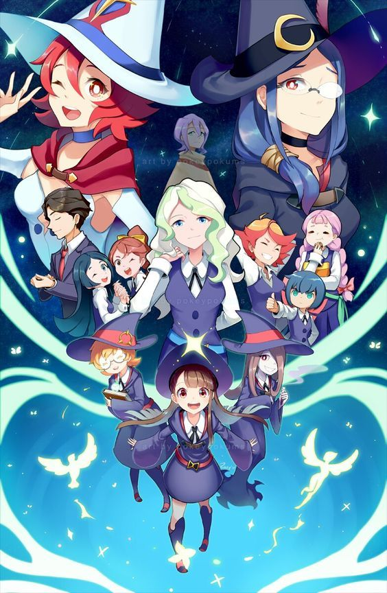 Little Witch Academia Wallpaper Littlewitchacademia Cosplayclass Personagens De Anime Anime Bruxa Arte Anime