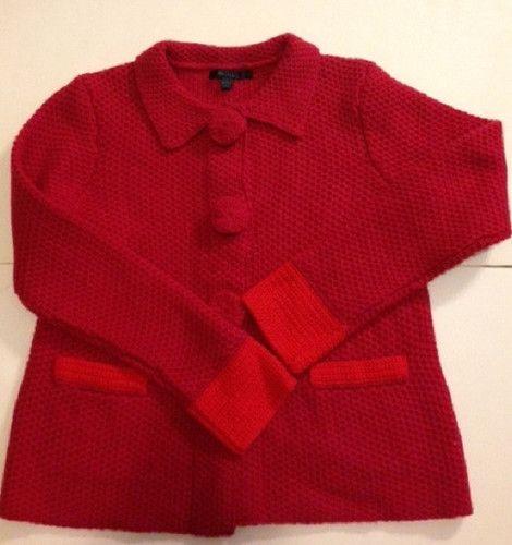 Boden wool womens cardigan sweater size 14 - eBay $34.97