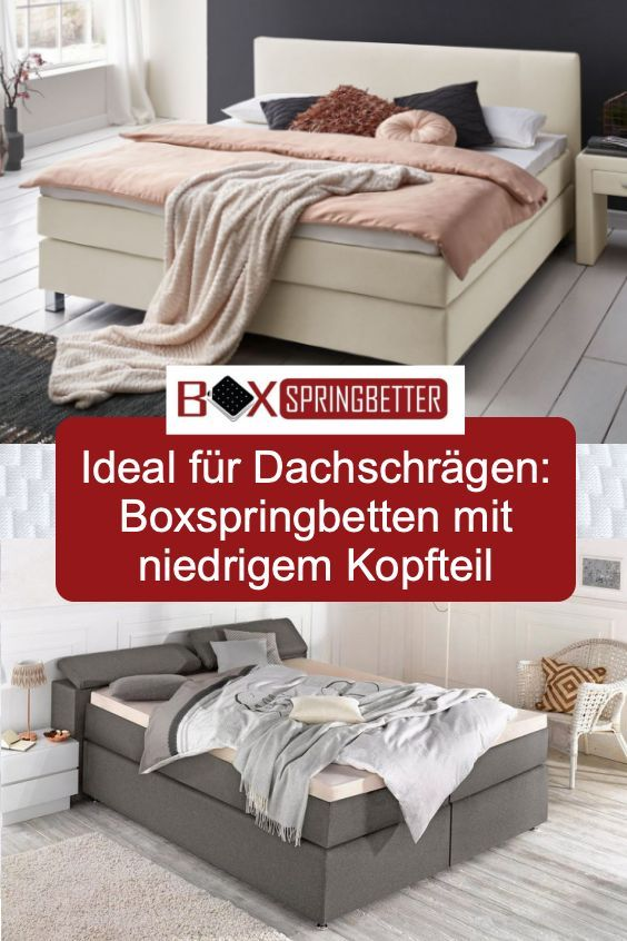 ᐅ Boxspringbett Niedriges Kopfteil Fur Dachschrage Neu 03
