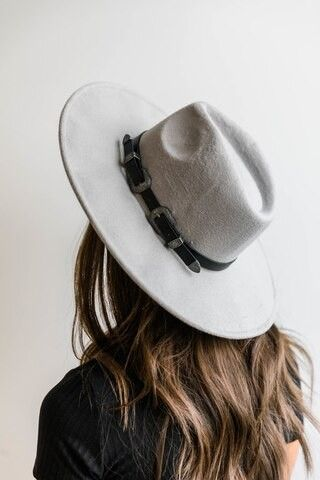 Here For Today Light Grey Hat