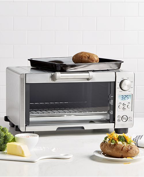 Breville Bov450xl Toaster Oven The Mini Smart Oven Reviews Small Appliances Kitchen Macy S Smart Oven Oven Reviews Toaster Oven