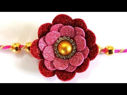 271 Very Easy Rakhi Design Idea How To Make Easy Rakhi For