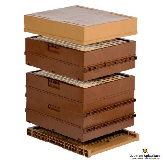 ruche dadant 10 cadres en plastique nicot beekeeping
