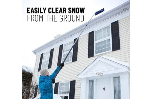Top 10 Best Snow Roof Rakes For Snow Removal Reviews In 2020 In 2020 Snow Removal Snow Rake Home Snow
