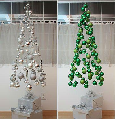 Árvores de natal criativas.. ainda dá tempo de fazer a sua!!!!