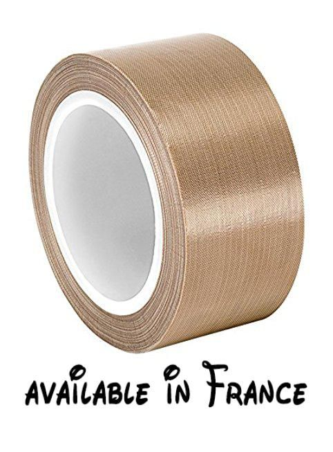 B00nuw87ve Tapecase 18753613410marron Clair Resistant A L Abrasion Ruban Fibre De Verre Avec Revetement En Ptfe 13410 36yd Fibre De Verre Tissu Ruban Adhesif