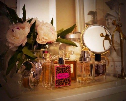perfume tray | Tumblr