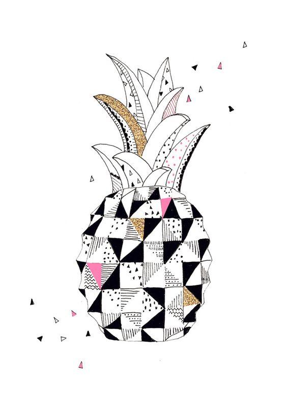 laurablythman.bigcartel.com /pineapple print