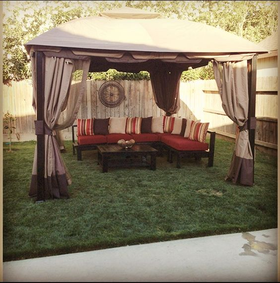 Canopy For Backyard Target : My Backyard Canopy and Sofa Set sofa sectional made out of 2x4s