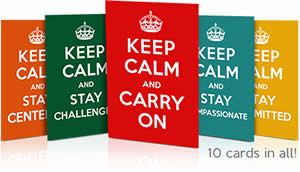 10 FREE Keep Calm Reminder Cards (Religious) on http://www.icravefreebies.com/