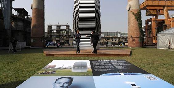 Artista holandés crea torre que limpia el aire en China