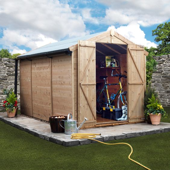 BillyOh 10 x 6 Windowless Tongue and Groove Apex Garden Shed 4000 Range