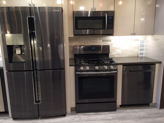 Black stainless steel stainless steel appliances and for 0 kitchen appliances