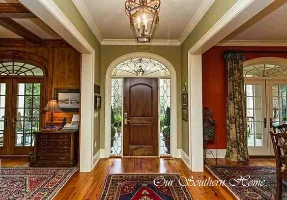 Summer home tour entry ways summer and entrance for Dining room entrance designs