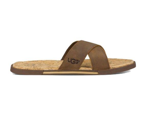 UGG AUSTRALIA Ithan Cork Sandal Luggage