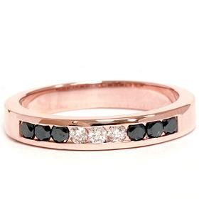 """I like this too, but he is already not too sure about the """"pink"""" gold he would never go for black diamonds LOL"""