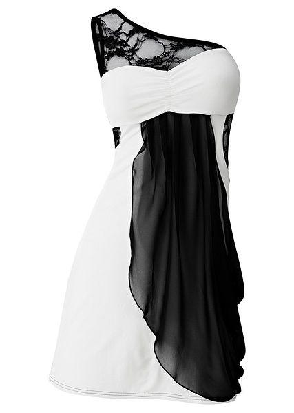 Sukienka na jedno ramię Piękna sukienka • 124.99 zł • bonprix