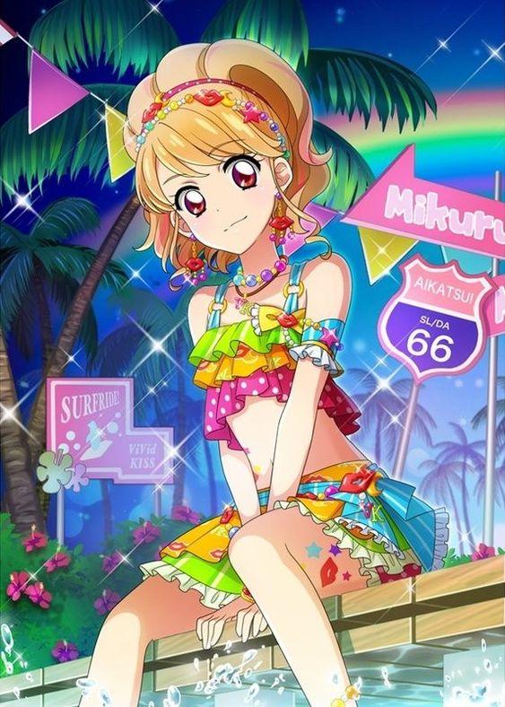 Aikatsu! Mikuru The cool pop idol,♥♥♥ her!!!