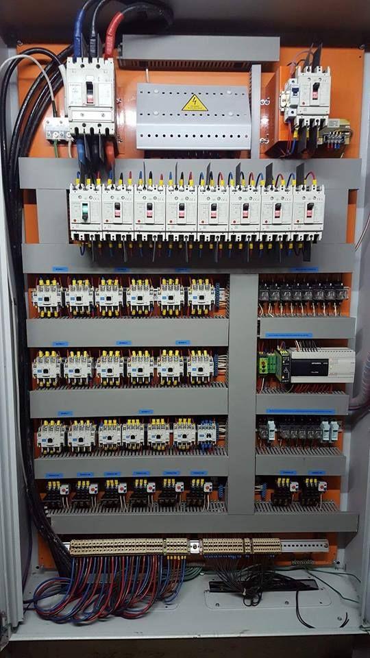 Automated Control Board For Pumping System Curso De Electricidad Industrial Electricidad Industrial Proyectos Electricos