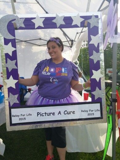Relay for life, large picture frame, $1 a picture.  We raised so much with this one and we didnt have to do much.
