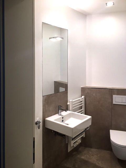 Spiegel Flachenbundig In Der Wand Eingelassen Mit Licht Spiegel
