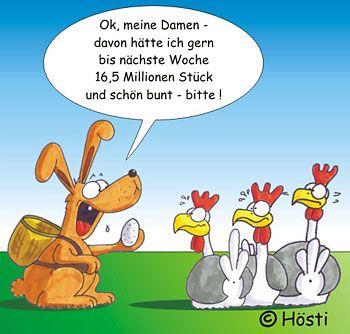 ostern comic
