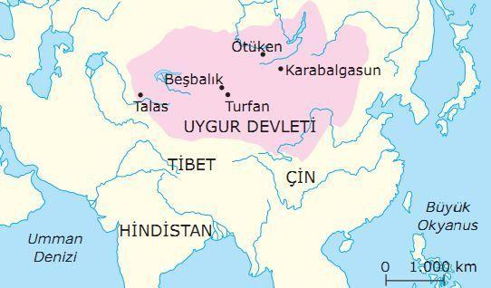 Ilk ve Orta Cağlarda Türk Dünyası panosundaki Pin