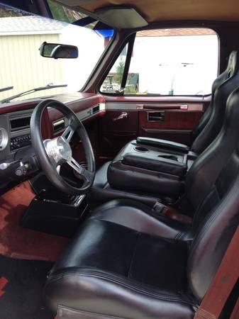 Make Chevrolet Model C10 Year 1986 Body Style Pickup Trucks Exterior Color Black Interior