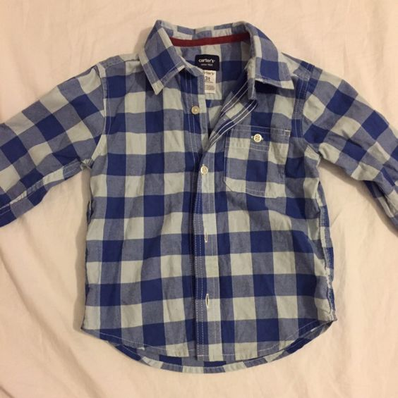 Check this item I am selling on Totspot, the resale shopping app for families.   Boys Button Down Shirt Carters  Love this! #kidsfashion #familyfashion