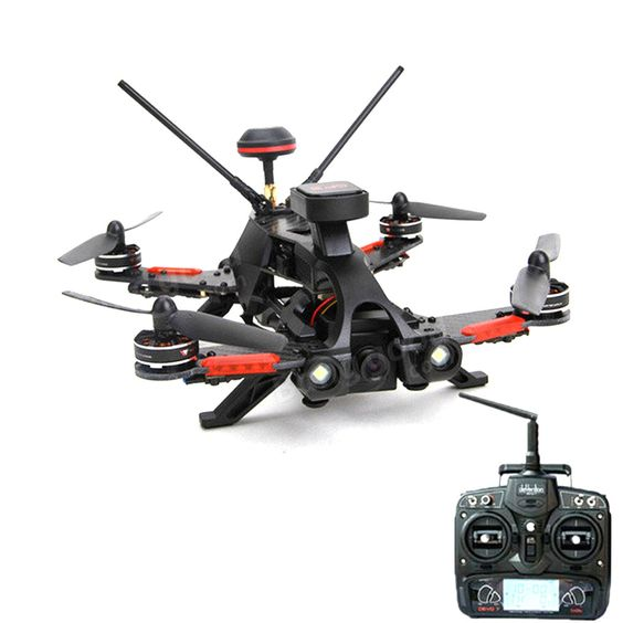 Walkera Runner 250 PRO Quadcopter with Camera 800TVL/OSD/GPS/5.8G Display/DEVO 7 RTF Transmtter. Using new GPS/GLONASS dual mode satellite positioning system.GPS hovering accuracy rise, star search speed. Buzzer design. When the flight the signal is lost or dropped suddenly, the bell will ring automatically. Support the headless fly mode,can easily return home even beyond visual range. 5.8G real time image transmission,to enjoy the exciting first-person view flight. Intelligent direction...