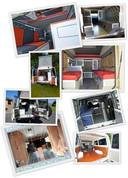Alternate travel - Toyota Troop Carrier interior conversions inspiration