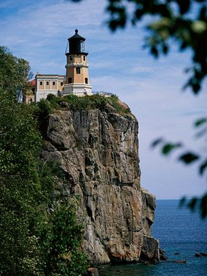 "Split Rock Lighthouse...a place that says ""Minnesota"" to me!"