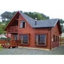 Casa pre fabricadas de madeira estilo americanas casas pinterest madeira - Cabanas casas prefabricadas ...