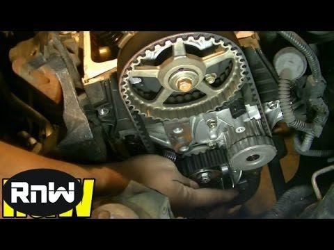 Honda Civic 1 7l Sohc Timing Belt Tensioner Water Pump Replacement Part 4 Youtube Here Is Part 4 Of My Version Of Honda Civic Timing Belt Water Pumps