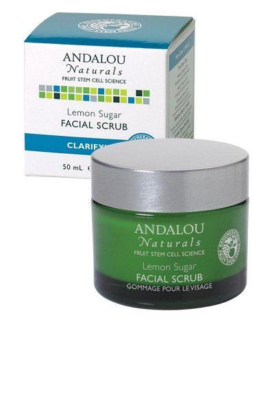 Andalou Naturals Lemon Facial Scrub (EWG 1)