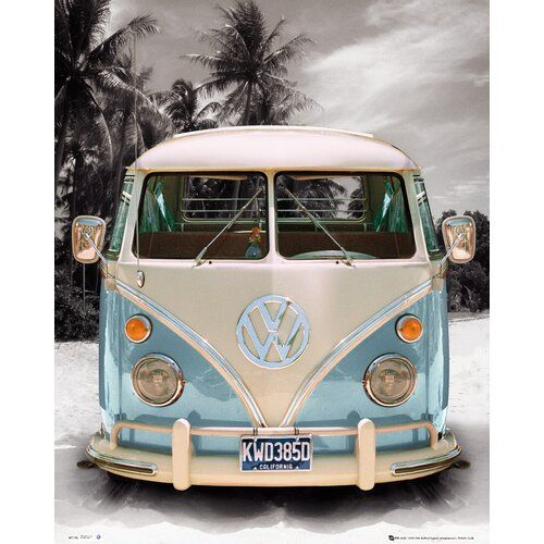 Scanmod Design Deco Panel Volkswagen Bulli T1 Fotodruck Volkswagen Vw Bus Camper Und Vw Routan