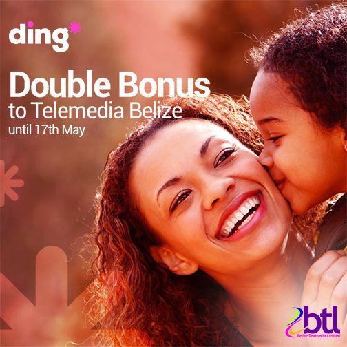 Top-up any Telemedia #Belize mobile until the 17th of May & get x2 #bonus! http://buff.ly/1FZ2STZ?utm_content=buffer555e6&utm_medium=social&utm_source=pinterest.com&utm_campaign=buffer